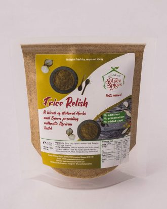 Frice Relish spices herbs